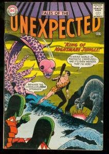 TALES OF THE UNEXPECTED #83 1964 DC NIGHTMARE JUNGLE FN+