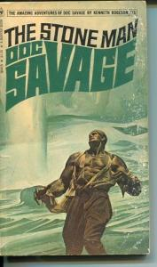 DOC SAVAGE-THE STONR MAN-#81-ROBESON-G-FRED PFEIFFER COVER-1ST EDTION G