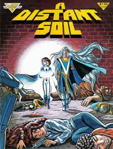 Distant Soil, A (1st Series) #1 FN; Warp | save on shipping - details inside