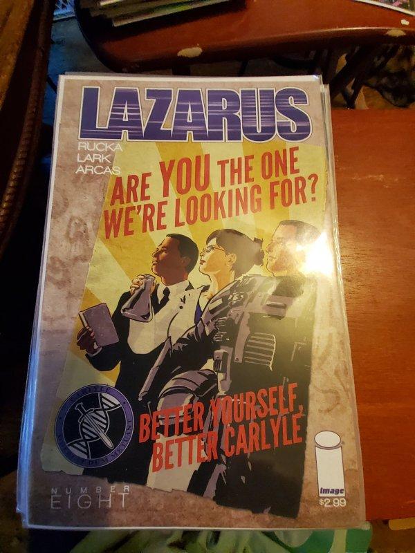 Lazarus #8 (2014)