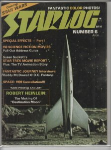 STARLOG MAGAZINE #6 F A04929