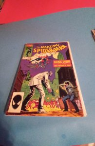 The Amazing Spider-Man #286 (1987) SIGNED BY COVER ARTIST BOB HALL, NO COA