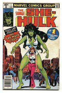 Savage She-Hulk #1 1st appearance 1980 Marvel comic VG