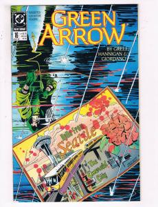 Green Arrow #16 VF DC Comics Arrow TV Show Comic Book Grell DE21