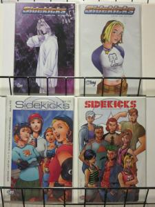 SIDEKICKS (2000 FANBOY) 1,1A,2-3A  Torres & Miyazawa