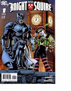 Lot Of 2 Comic Books DC Knight and Squire #1 and #2 Batman Superman LH17