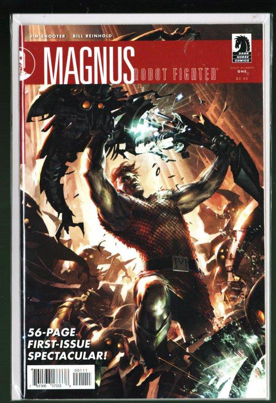 Magnus Robot Fighter #1 (2010)
