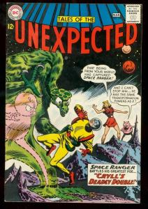 TALES OF THE UNEXPECTED #75 1963 DC SPACE RANGER SCI-FI VG/FN