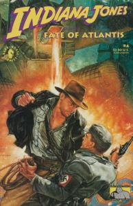 Indiana Jones and the Fate of Atlantis #4 VF/NM; Dark Horse | save on shipping -
