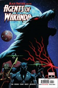 Black Panther And The Agents Of Wakanda #4 (Marvel, 2020) NM