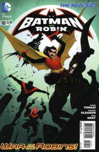 Batman and Robin (2nd Series) #10 VF/NM; DC   save on shipping - details inside