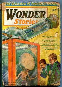 Wonder Stories Pulp April 1931- Clark Ashton Smith- reading copy
