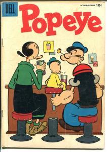 Popeye #34-1955-Dell-Swee'pea-nice art-VG MINUS