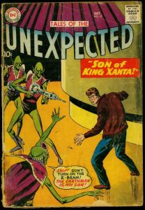 Tales of the Unexpected #42 1959- Space Ranger- DC Sci-fi Silver Age F/G