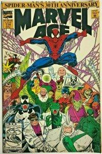 MARVEL AGE#114 VF 1992 SPIDER-MAN 30TH ANNIVERSARY  MARVEL COMICS