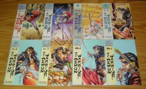 Demon Warrior #1-11 VF complete series - eastern comics manga set lot