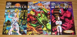 Nova Hunter #1-3 VF/NM complete series - ryal comics bad girl set lot 2