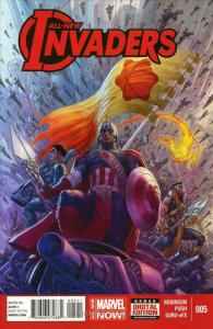 All-New Invaders #5 VF/NM; Marvel | save on shipping - details inside