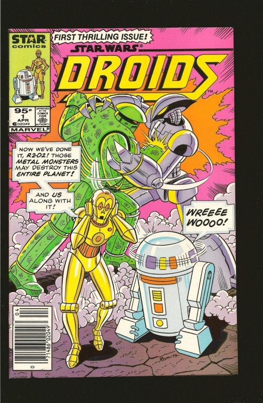 Marvel Comics Star Comics Star Wars Droids Vol 1 No 1 April 1986