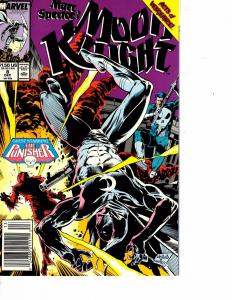 Lot Of 2 Marvel Comic Books Moon Knight #8 and The 'Nam #9  ON3
