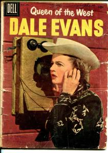Queen of The West Dale Evans #13 1956-Dell-photo cover-Russ Manning-P/FR