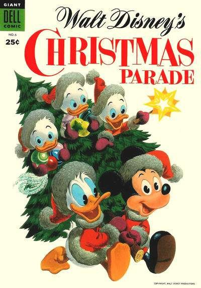Dell Giant Comics: Christmas Parade #6, VG+ (Stock photo)