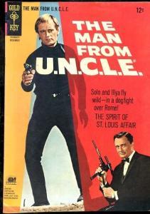 MAN FROM U.N.C.L.E. #9-PHOTO COVER VF