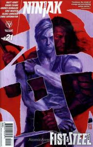 Ninjak (3rd Series) #21A VG; Valiant | low grade comic - save on shipping - deta