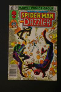 Marvel Team-Up #109 Spider-Man and Dazzler September 1981