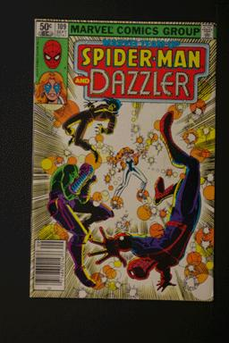 Marvel Team-Up #109 Spider-Man and Dazzler September 1981