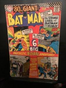 Batman #182 (1966) Affordable-grade,  Giant-size key! VG   Wow!