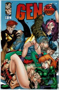Gen 13 #0, 9.0 or better, J. Scott Campbell Cover