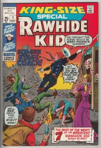 Rawhide Kid King-Size Special #1 (Sep-71) NM- High-Grade Rawhide Kid
