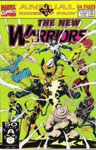 New Warriors (1990 series) Annual #1, NM + (Stock photo)