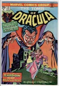 TOMB of DRACULA #23, FN+, Vampire, Exorcism, Marv Wolfman, 1972, Tom Palmer