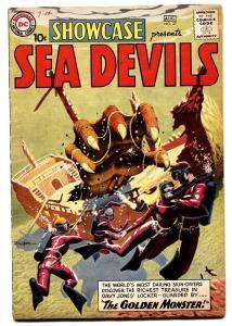 SHOWCASE COMICS #27-SEA DEVILS-RUSS HEATH ART-Grey Tone--DC