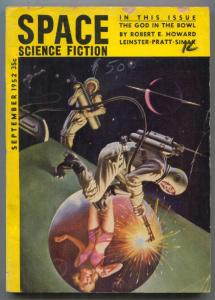 Space Science Fiction #2 September 1952- The God In The Bowl- VG