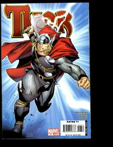 Lot of 10 Thor Marvel Comic Books 1 2 3 4 5 6 7 8 9 10 11 12 Spider-Man SM11