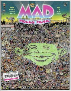 MAD Magazine #13 Music Parodies | Eminem | Billie Eilish | Dr Dre (DC, 2020) NM