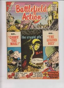 Battlefield Action #30 FN- june 1960 - charlton comics - silver age war
