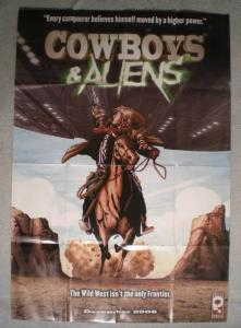 COWBOYS & ALIENS Promo Poster, 27x39, 2006, Unused, more Promos in store