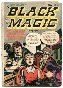 Black Magic Vol 2 #6 1953- Simon & Kirby- Pre code horror G/VG