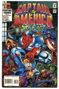Captain America #434-1994 1st appearance of JACK FLAG NM-