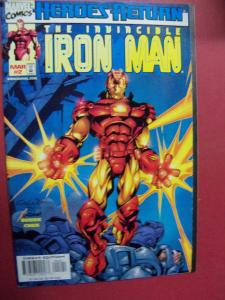 THE INVINCIBLE IRON MAN  #2  VF/NM (9.0) OR BETTER