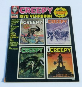 Creepy 1970 Yearbook VG+ Horror Magazine Fantasy Terror Creepy Haunted Mad