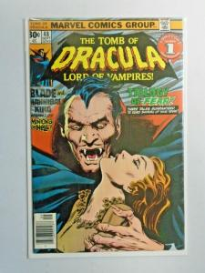 Tomb of Dracula #48 1st Series water damage 4.0 (1976)