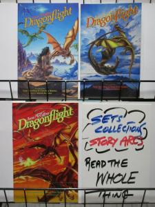 DRAGONFLIGHT (1991 EC) BOOK I-III DOWLING ADAPTS MC CAF