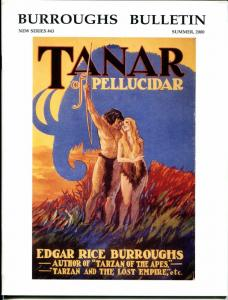 Burroughs Bulletin New Series #43 2000-ERB-Tarzan-Frazetta-Berdanier-VF