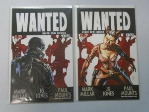 Wanted #1+2 Death Row edition 8.0 VF (2003)