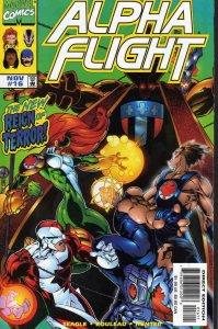 Alpha Flight (2nd Series) #16 VF/NM; Marvel | save on shipping - details inside